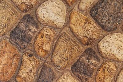 Photograph - Bricks, Stones, Mortar And Walls - 5 by Hany J