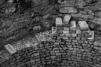 Photograph - Bricks by Photography by Tiwago