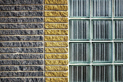 Photograph - Bricks by Trever Miller