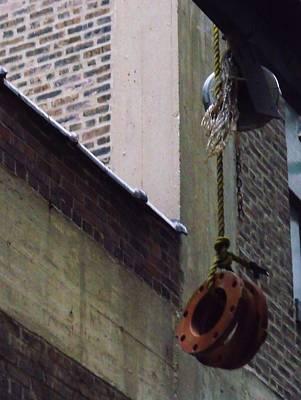 Photograph - Bricks Weights And Rope by Anna Villarreal Garbis