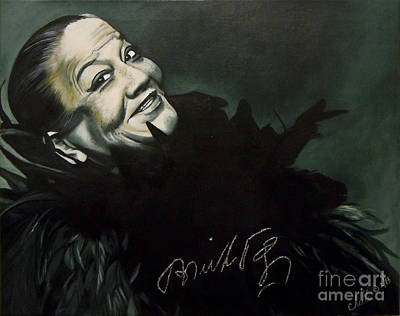 Painting - Bricktop Ada Smith by Chelle Brantley