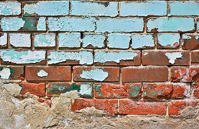 Photograph - Brickwork 01 by Greg Jackson