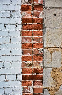 Photograph - Brickwork 07 by Greg Jackson