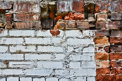 Photograph - Brickwork 08 by Greg Jackson