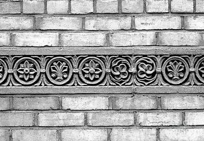 Photograph - Brickwork by Ethna Gillespie