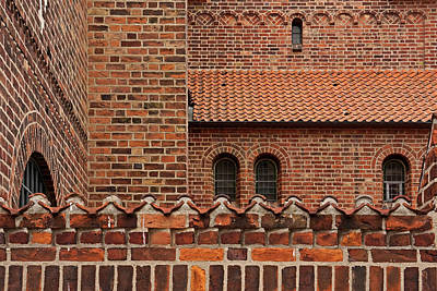 Photograph - Brickwork by Inge Riis McDonald