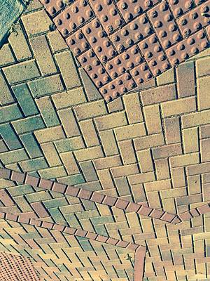 Photograph - Brickwork Tapestry by Douglas Fromm