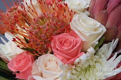 Photograph - Bridal Bouquet I by Terri Thompson