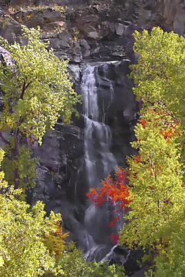 Bridal Veil Falls Black Hills Art Print by Rich Stedman