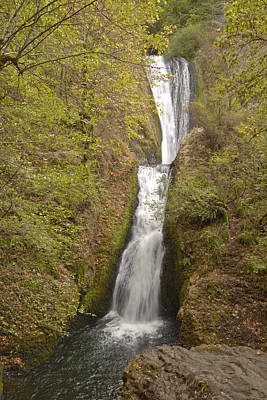 Bridal Veil Falls Columbia Gorge Oregon. Original by Gino Rigucci