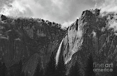 Photograph - Bridal Veil Falls From The Meadow by Debby Pueschel