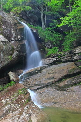 Photograph - Bridal Veil Falls by John Burk