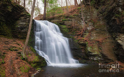 Photograph - Bridal Veil Falls  by Michael Ver Sprill