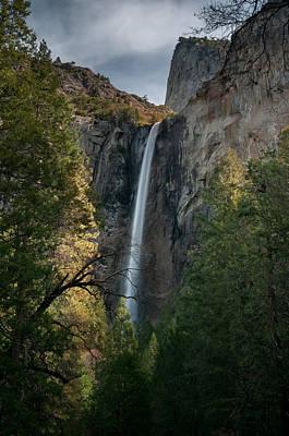 Winter Landscapes Photograph - Bridal Veil Falls by Ralph Vazquez