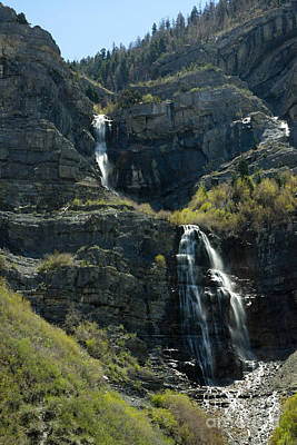 Photograph - Bridal Veil Falls by Richard Lynch