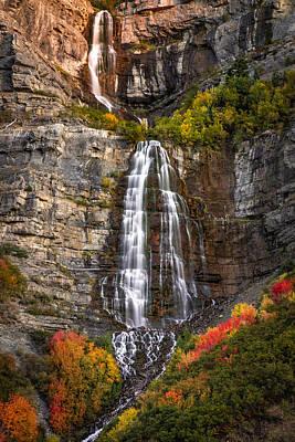 Photograph - Bridal Veil Falls by Ryan Smith