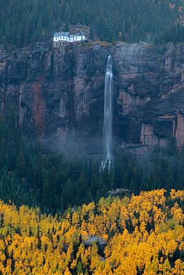 Photograph - Bridal Veil Falls by Steve Stuller