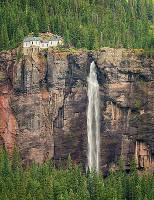 Photograph - Bridal Veil Falls - Telluride Colorado by Loree Johnson
