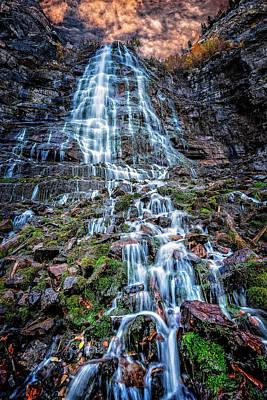 Bridal Veil Falls Utah Art Print