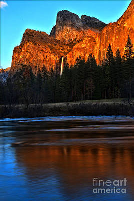 Photograph - Bridal Veil Sunset by Adam Jewell