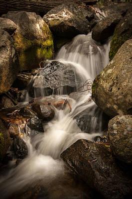 Yosemite National Park Digital Art - Bridal Veil Water by Ralph Vazquez