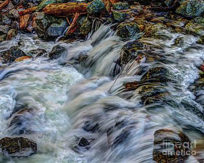 Photograph - Bridalveil Creek In Yosemite National Park by Terry Garvin