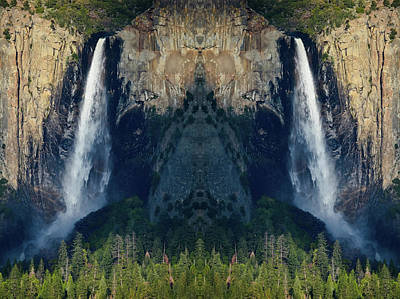 Photograph - Bridalveil Fall Mirror  by Kyle Hanson