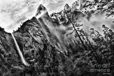 Photograph - Bridalveil Fall Yosemite Morning by Blake Richards