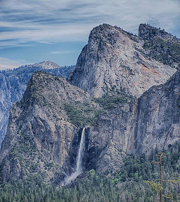 Photograph - Bridalveil Fall, Yosemite National Park by Jim Pavelle