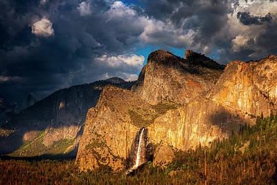 Photograph - Bridalveil Falls by Andrew Soundarajan
