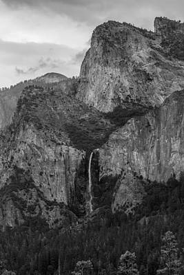 Photograph - Bridalveil Falls by Christopher Perez