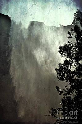 Photograph - Bridalveil Falls Vintage by Debby Pueschel