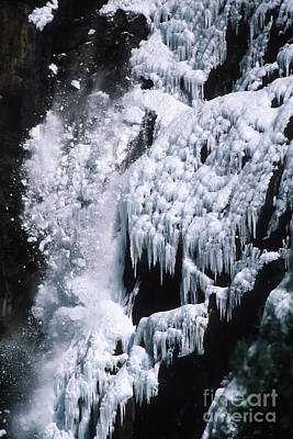 Photograph - Bridalveil Ice Fall by Stan and Anne Foster