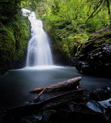 Photograph - Briday Veil Falls by Jerome Obille