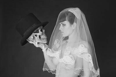 Bride And Groom Art Print by MAX Potega