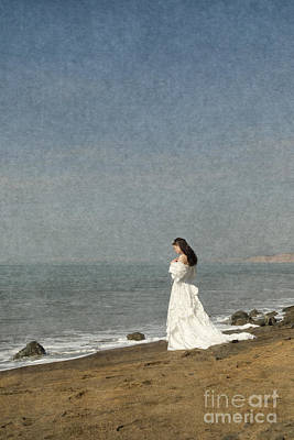 Photograph - Bride By The Sea by Clayton Bastiani