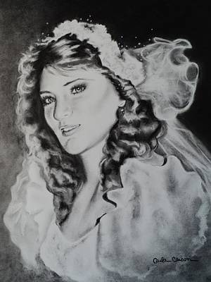Drawing - Bride Carlita by Carla Carson