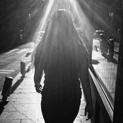 Girl Photograph - Bride Light  #bride #woman #girl by Rafa Rivas