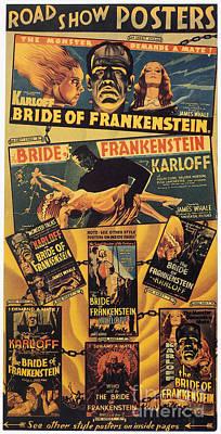Photograph - Bride Of Frankenstein, 1935 by Granger