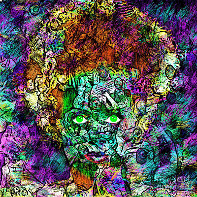 Photograph - Bride Of Frankenstein 20170407 by Wingsdomain Art and Photography