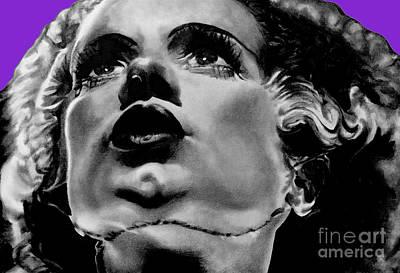 Bride Of Frankenstein Signed Prints Available At Laartwork.com Coupon Code Kodak Art Print by Leon Jimenez