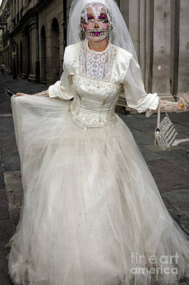 Photograph - Bride Of Jackson Square- Nola by Kathleen K Parker