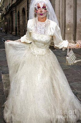 Photograph - Bride Of Jackson Square Painted_nola by Kathleen K Parker
