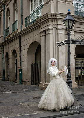 Photograph - Bride Of Jsq 3 - Nola by Kathleen K Parker