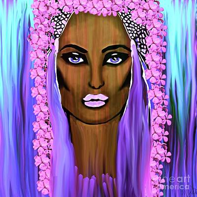Painting - Bride Of The Morning by Saundra Myles