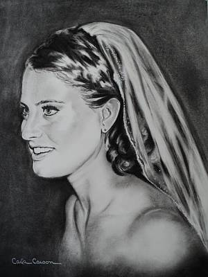 Drawing - Bride Wenona by Carla Carson