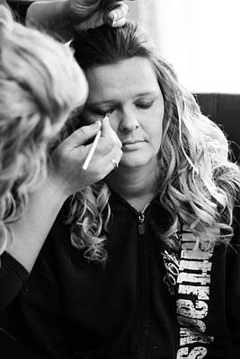 My Big Day Photograph - Brides Makeup by Jacob Anderson