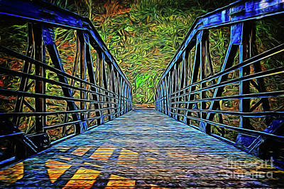 Photograph - Bridge 16218 by Ray Shrewsberry