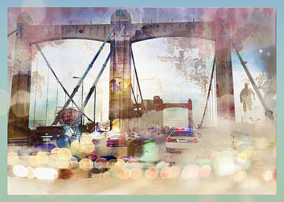 Photograph - Bridge Abstract by Susan Stone