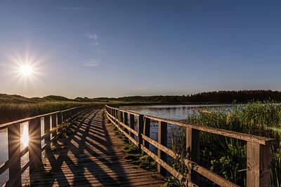 Photograph - Bridge Across Shining Waters by Chris Bordeleau